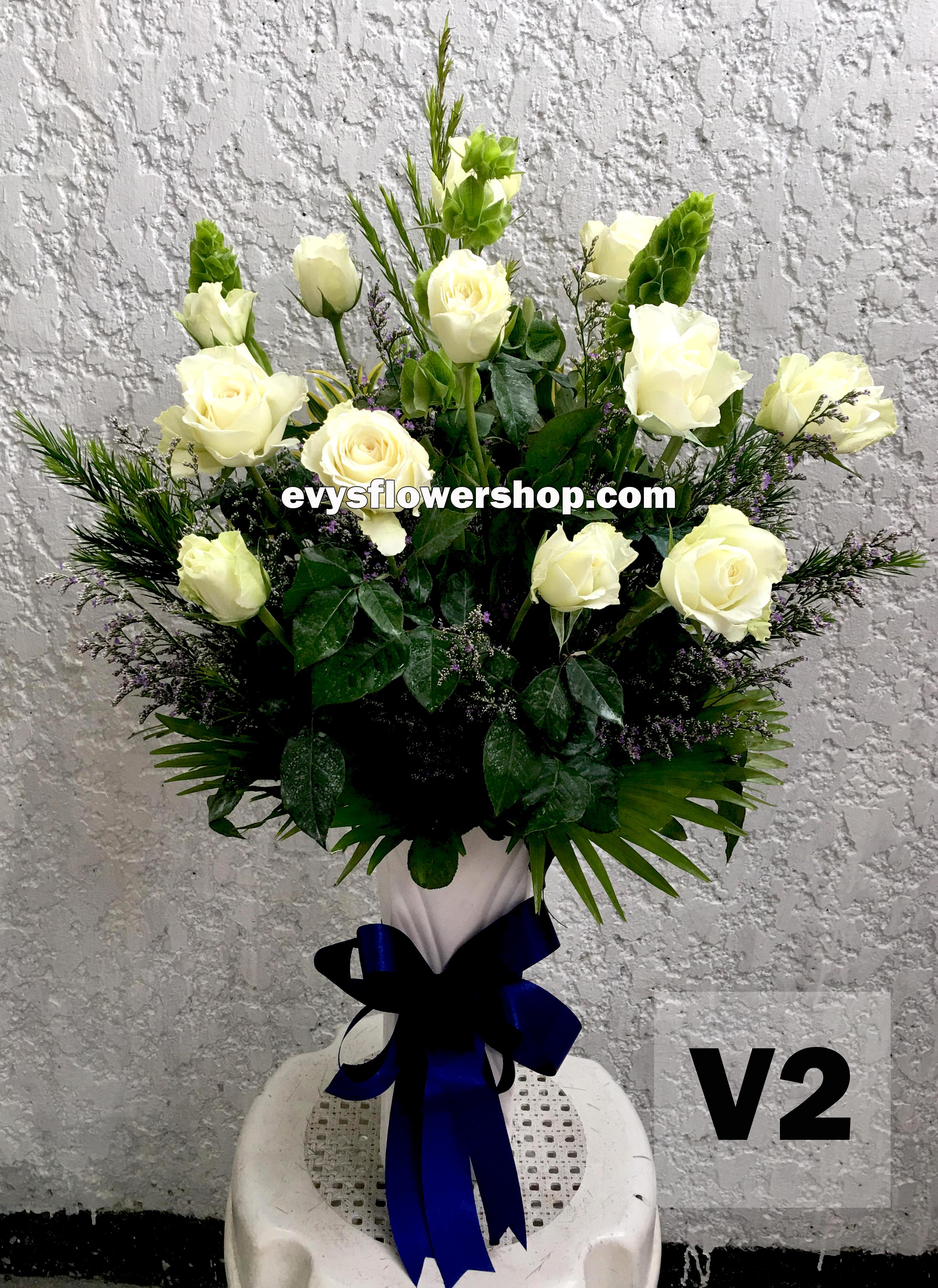 V2 vase of roses roses vase arrangement vase vase of flowers & Vase of flowers I Evys Flowershop I FREE delivery I Call 3305174