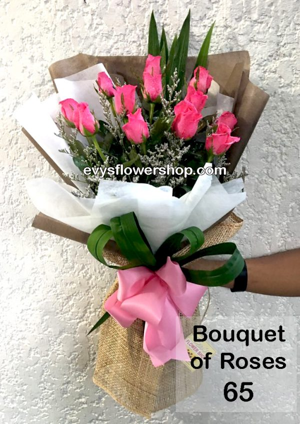 bouquet of roses 65, bouquet, bouquet of roses, roses, flower delivery, flower delivery philippines