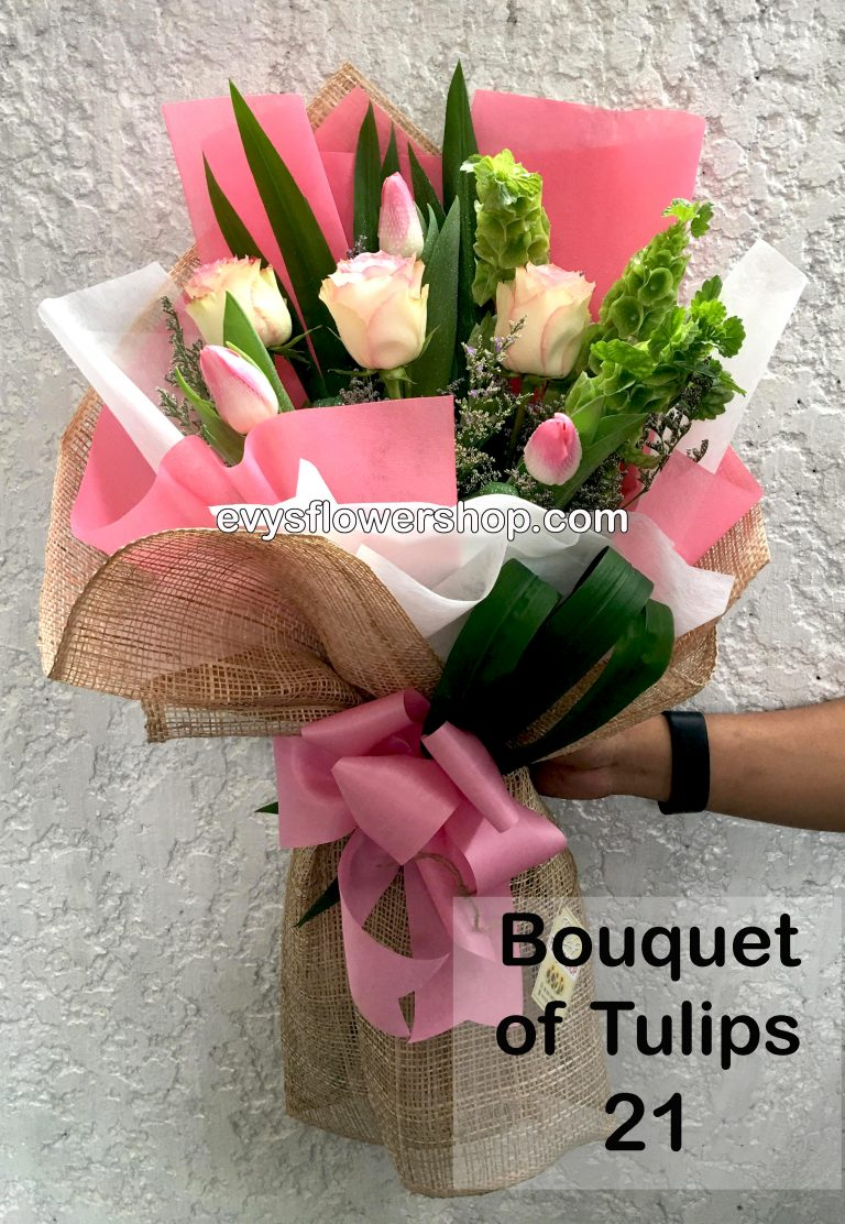 bouquet of tulips 21, bouquet of tulips, tulips, bouquet, flower delivery, flower delivery philippines