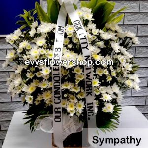 sympathy flower 186-flower delivery-funeral flowers-funeral flowers delivery-sympathy flowers-sympathy flowers delivery-funeral flowers delivery philippines-cheap funeral flowers delivery