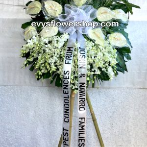 sympathy flower stand 130-flower delivery-funeral flowers-funeral flowers delivery-sympathy flowers-sympathy flowers delivery-funeral flowers delivery philippines-cheap funeral flowers delivery
