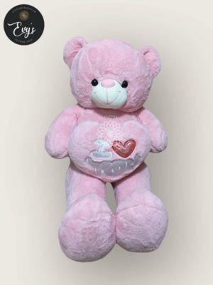 Huggy Pink Stuffed Toy