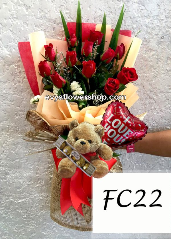 FC22, bouquet, flower delivery, flower delivery philippines-Recovered