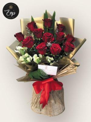 Bouquet of Ecuadorian Roses 1