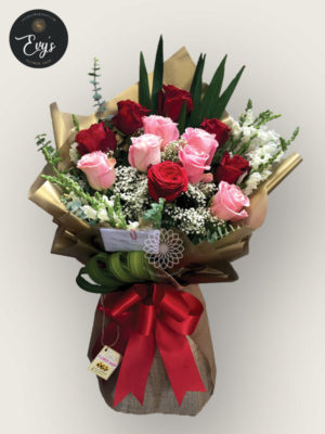 Bouquet of Ecuadorian Roses 11