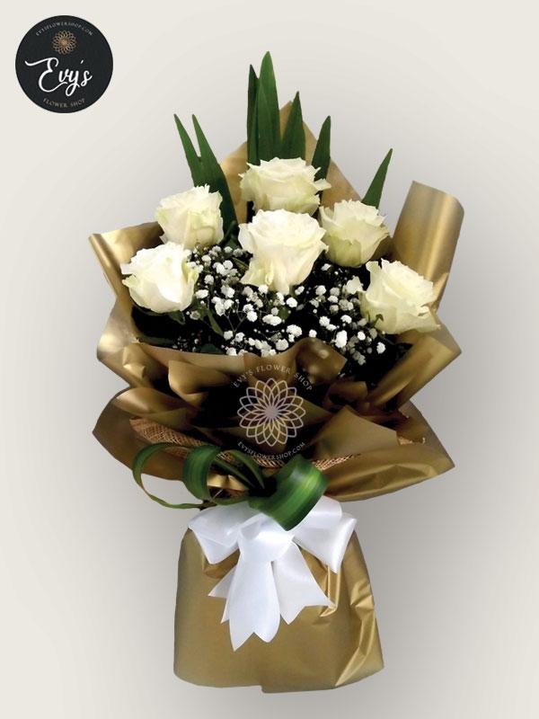 bouquet of ecuadorian roses 13