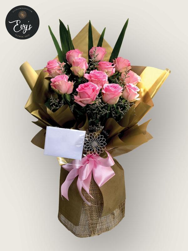 bouquet of ecuadorian roses 15