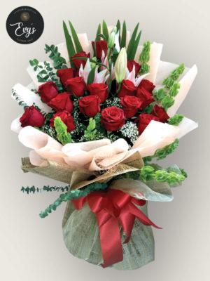 Bouquet of Ecuadorian Roses 17
