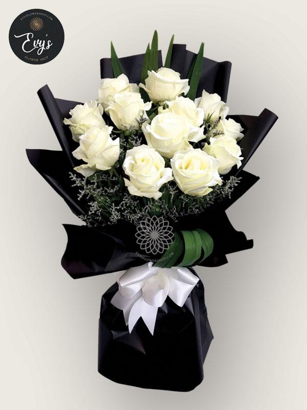 bouquet of ecuadorian roses 18