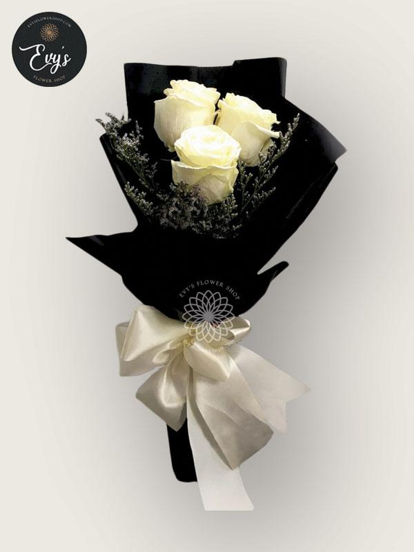 bouquet of ecuadorian roses 40