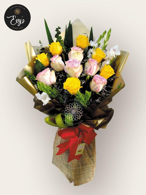 bouquet of ecuadorian roses 6