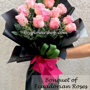bouquet of ecuadorian roses 34, bouquet of ecuadorian roses, ecuadorian roses, bouquet, flower delivery, flower delivery philippines