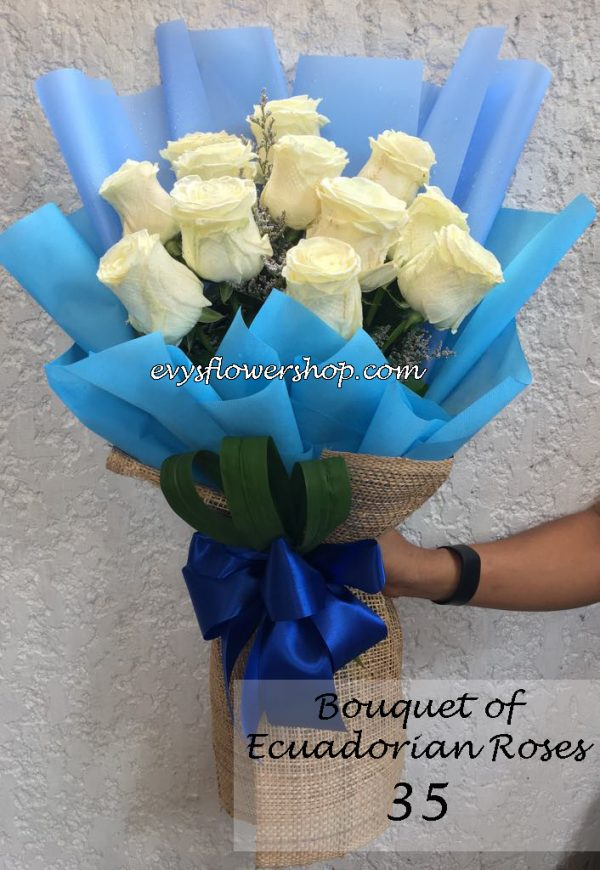 bouquet of ecuadorian roses 35, bouquet of ecuadorian roses, ecuadorian roses, bouquet, flower delivery, flower delivery philippines