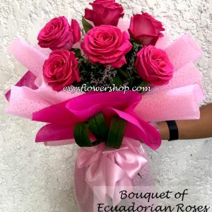 bouquet of ecuadorian roses 38, bouquet of ecuadorian roses, ecuadorian roses, bouquet, flower delivery, flower delivery philippines