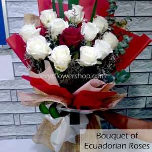 bouquet of ecuadorian roses 40, bouquet of ecuadorian roses, ecuadorian roses, bouquet, flower delivery, flower delivery philippines