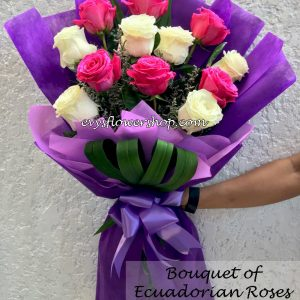 bouquet of ecuadorian roses 41, bouquet of ecuadorian roses, ecuadorian roses, bouquet, flower delivery, flower delivery philippines