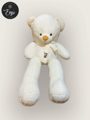 Huggable White Stuffed Toy
