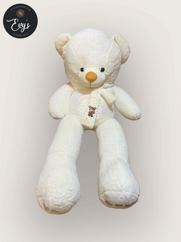 Huggable White Stuffed Toy